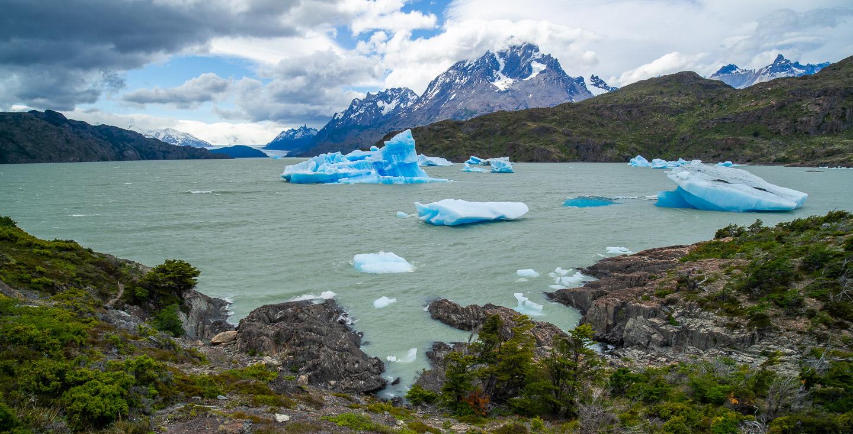 Ledové kry, Lago Grey