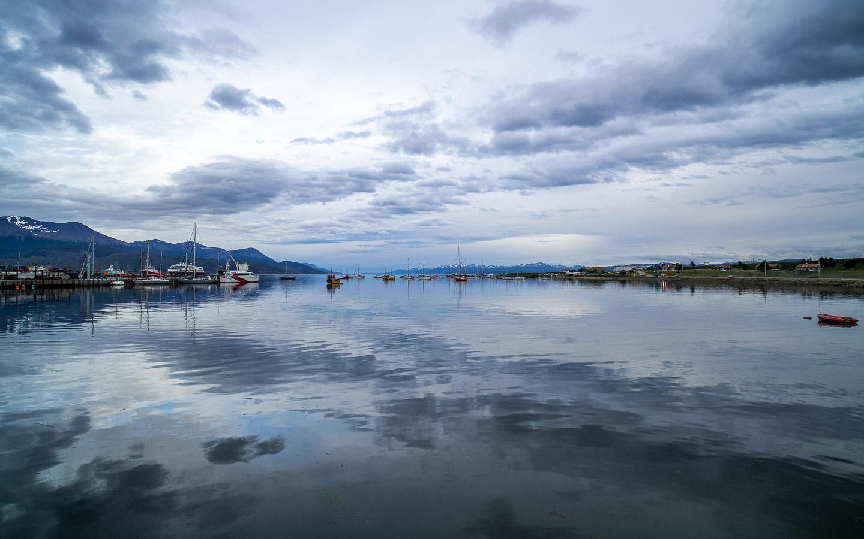 Večer v přístavu, Ushuaia