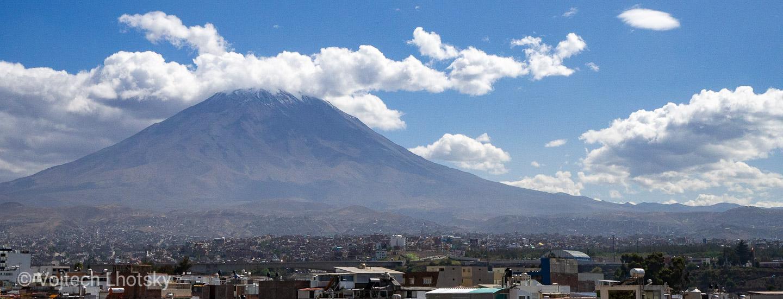 Vulkán El Misti