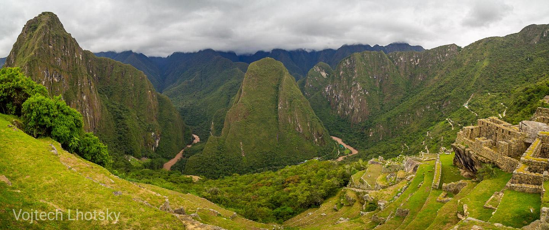 Výhled z Machu Picchu