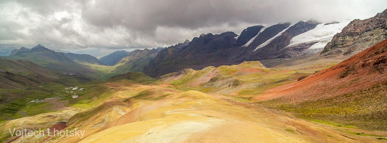 Ledovec na hoře Wasaqucha