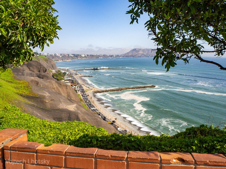 Městská pláž v Miraflores
