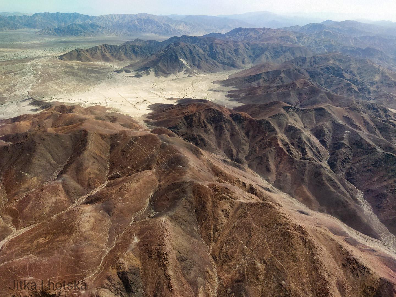 Vyprahlá krajina jižního Peru