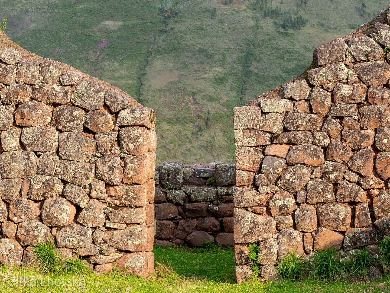 Ruiny pevnosti Pisac