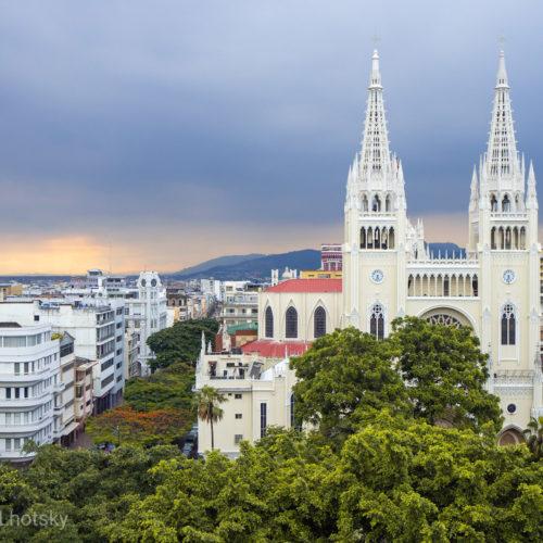 Katedrála v Guayaquilu
