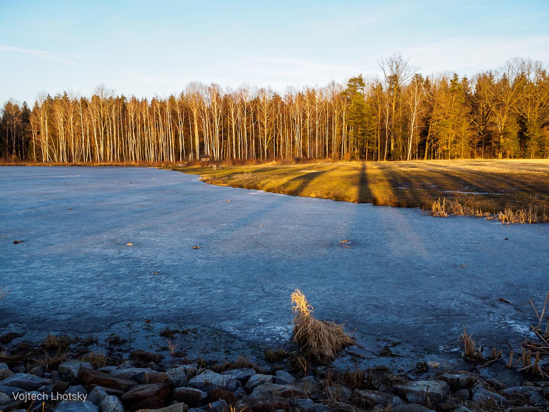 Zamrzlý rybník Velké bahno, Jižní Čechy