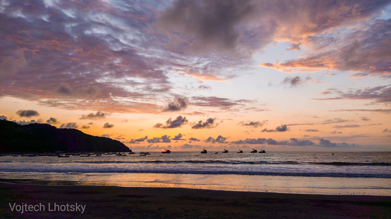 Pláž v Puerto López