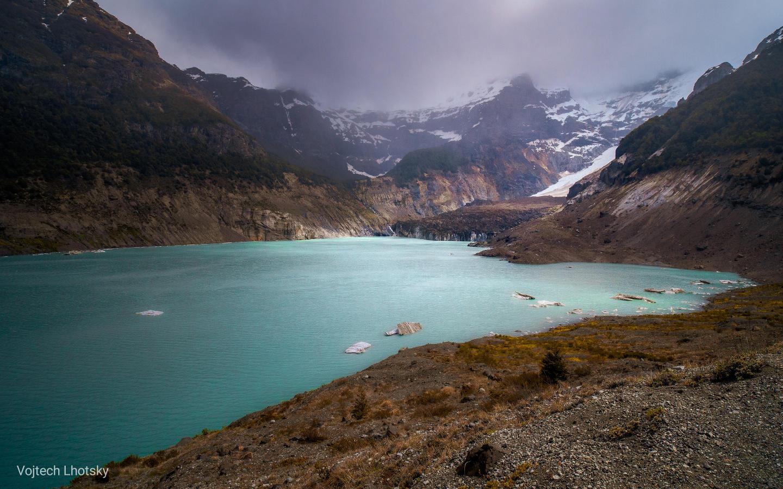 Ledovcový splaz Ventisquero Negro