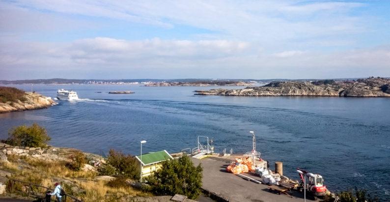 Ostrov Köpstadsö je stejně jako mnoho dalších obsluhován veřejnou lodní dopravou