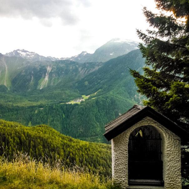 Vlakem do Alp - červenec 2013