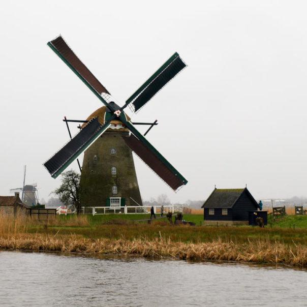 Nizozemsko - duben 2018