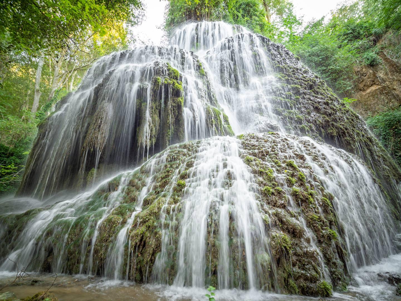 Vodopády nad řekou Piedra