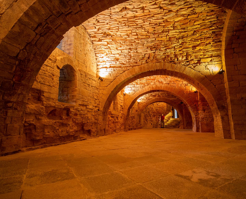 Interiér kláštera San Juan de la Peña